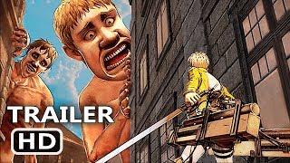 PS4 - Attack On Titan 2 Battle Gameplay Trailer (2018)