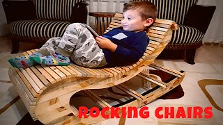 Sallanan sandalye yapımı   rocking chairs