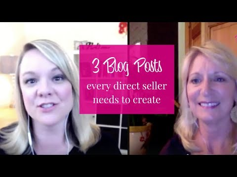 How To Start A Blog For Your Direct Sales Biz – Interview with Laurie Girardi