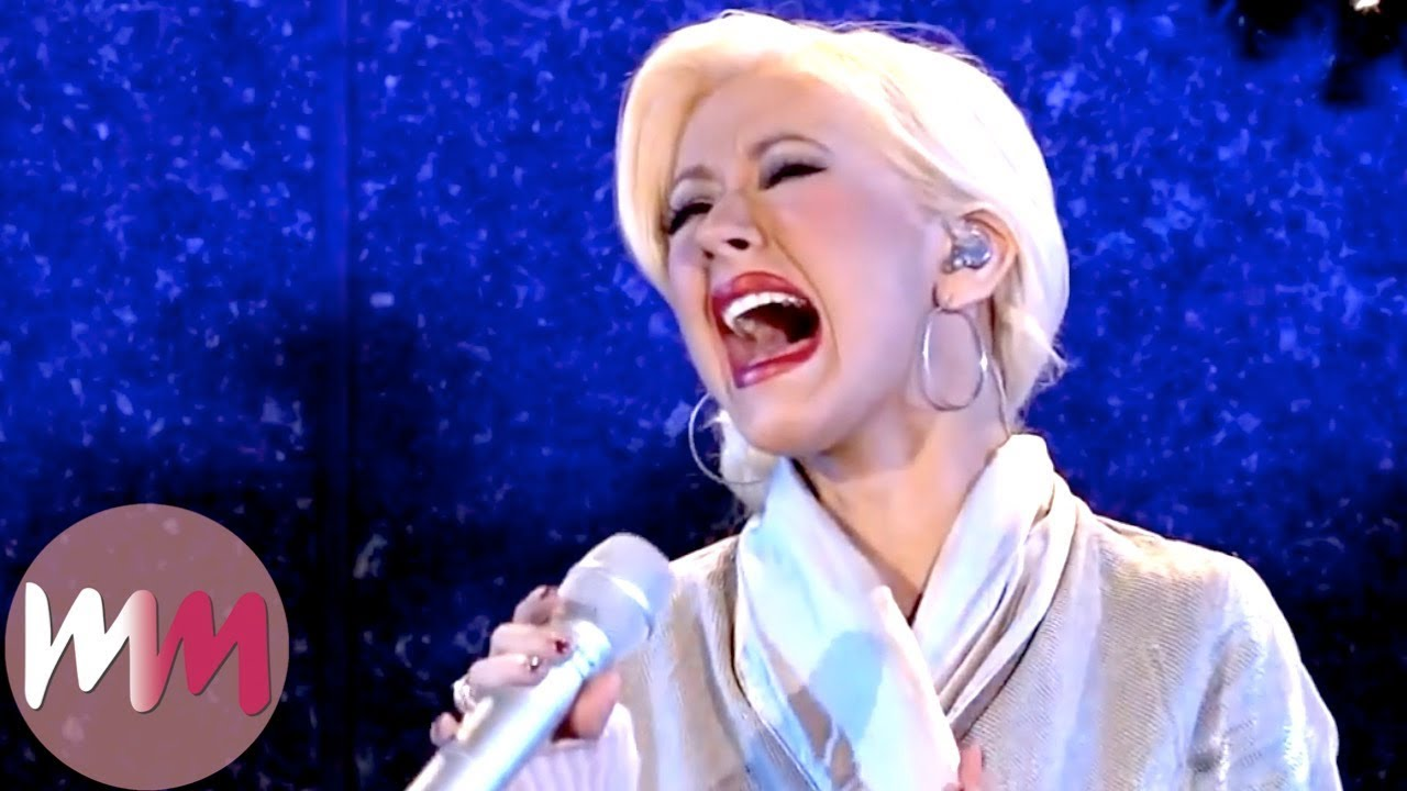 Top 10 Best Christina Aguilera Performances