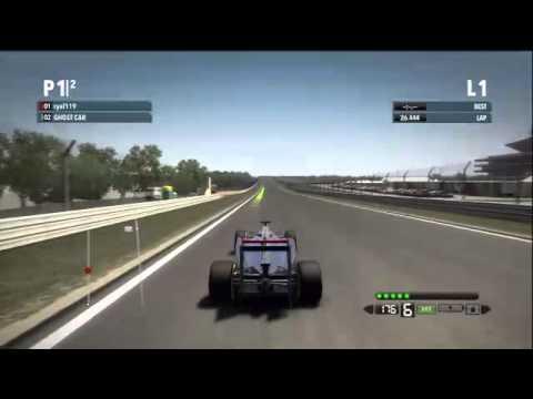 F1 2012 | Lap Personal Best on New Delhi India