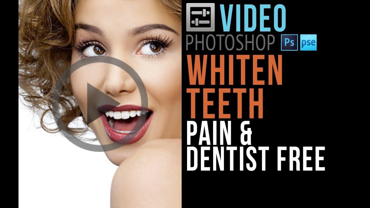 Photonerds Whiten Teeth In Photoshop Elements 13 Youtube