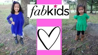 Fabkids review & Lookbook!