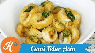 Resep Cumi Goreng Telur Asin Yuda Bustara (Golden Squid Recipe Video) | YUDA BUSTARA