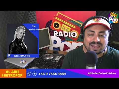 RetroPop con Ismael Pereira Calderón 03 De Abril 2020