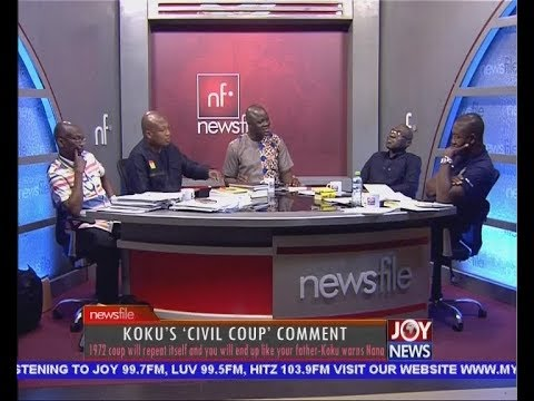 Kokus 'Civil Coup Comment' - Newsfile on JoyNews (31-3-18)