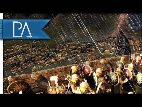 HELMS DEEP UNDER SIEGE - Third Age Total War Gameplay [Historical Battle]