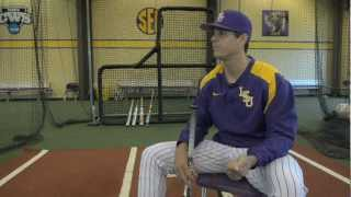 how to select a bat with lsu baseball s javi sanchez demarini s matt hendryx