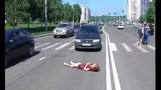 ДТП.Ребёнка сбили на зебре.Жесть