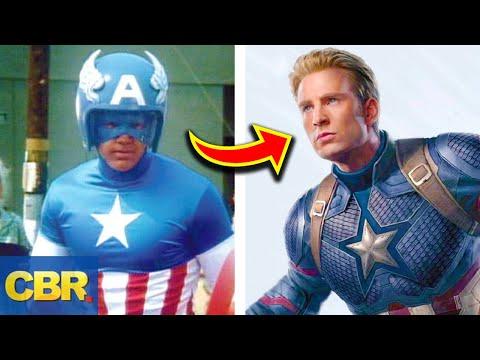 The Evolution Of Marvel's Avengers Costumes
