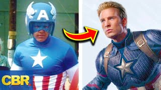 The Evolution Of Marvel's Avengers Costumes
