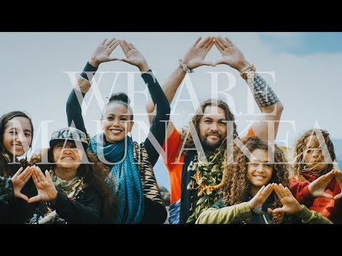 None - JASON MOMOA'S PRODUCTION COMPANY RELEASES NEW  WE ARE MAUNA KEA EPISODE