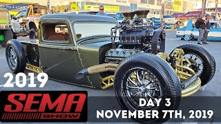 SEMA show 2019 Highlights - Amazing cars and trucks - Las Vegas Day 3