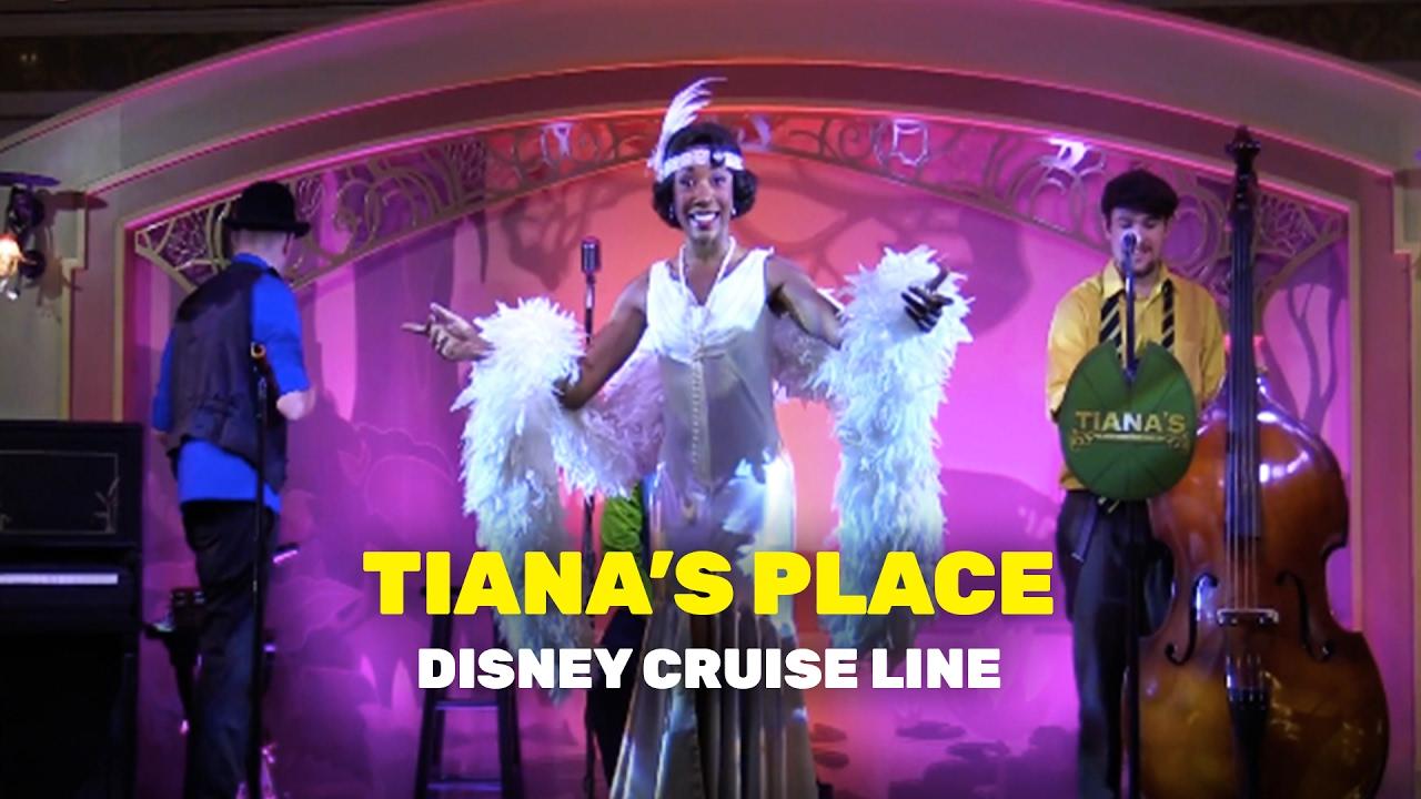 Inside Tiana S Place Restaurant On The Disney Wonder Cruise Ship