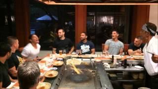 Teppenyaki dining at Gold Coast