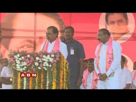KCR Public Meet In Munugode | TRS Election Campaign | ABN Telugu