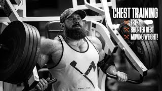 Chest Training | FST-7, Shorter Rest, & Moving WEIGHT!