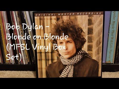 Bob Dylan - Blonde on Blonde Mobile Fidelity Sound Lab 45RPM