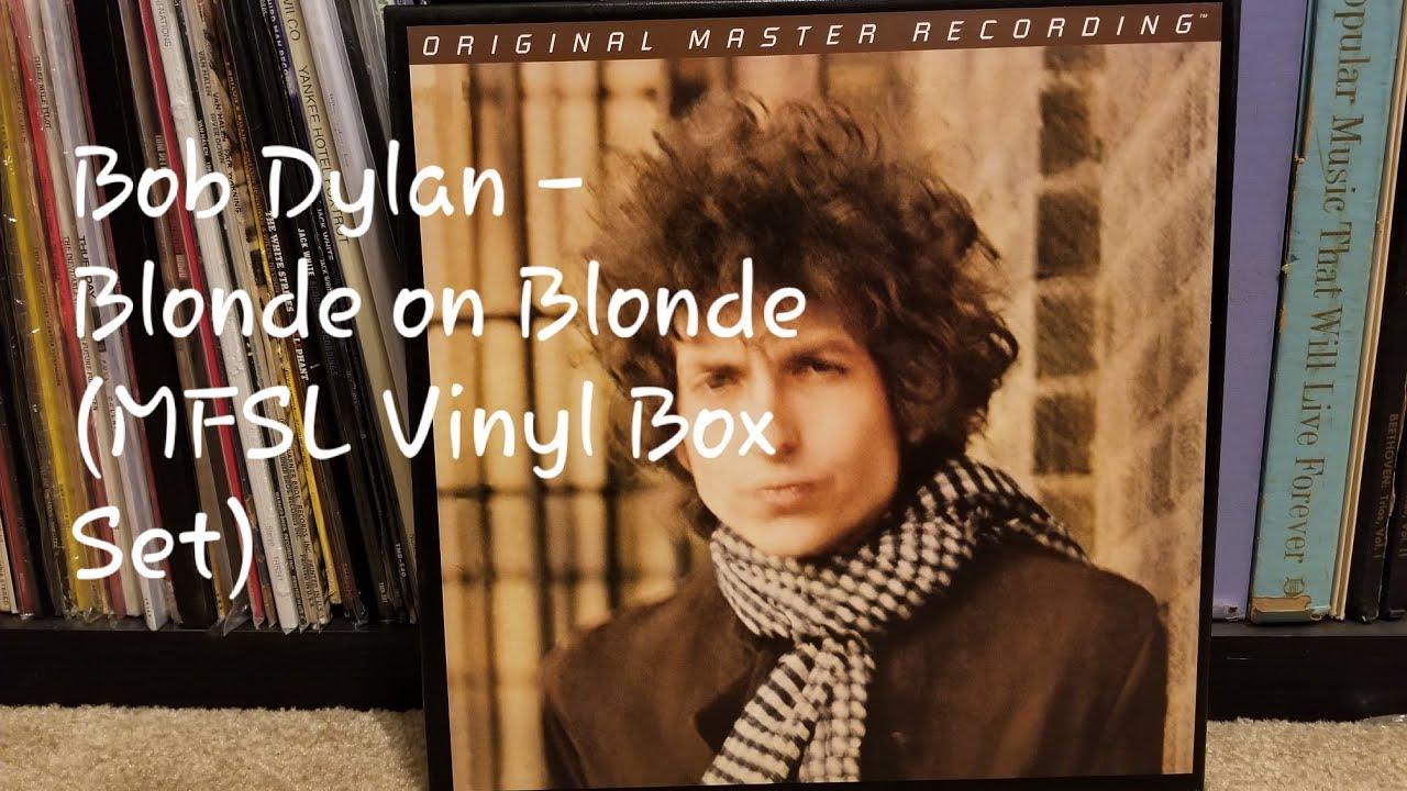 Bob Dylan - Blonde on Blonde Mobile Fidelity Sound Lab 45RPM Vinyl Box Set  (MFSL 3-45009)