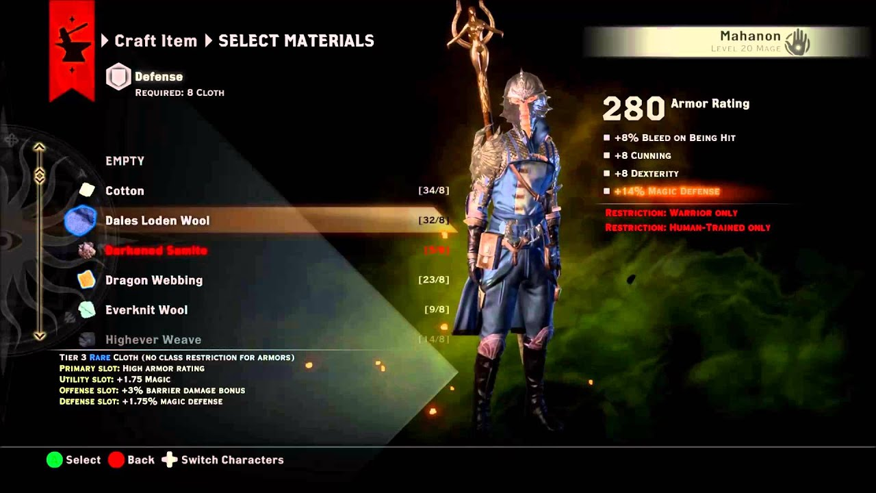 Dragon age inquisition how to get templar armor schematic armor