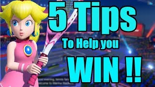 Learn The Pace Win The game - Mario Tennis Aces (Simple Mode)