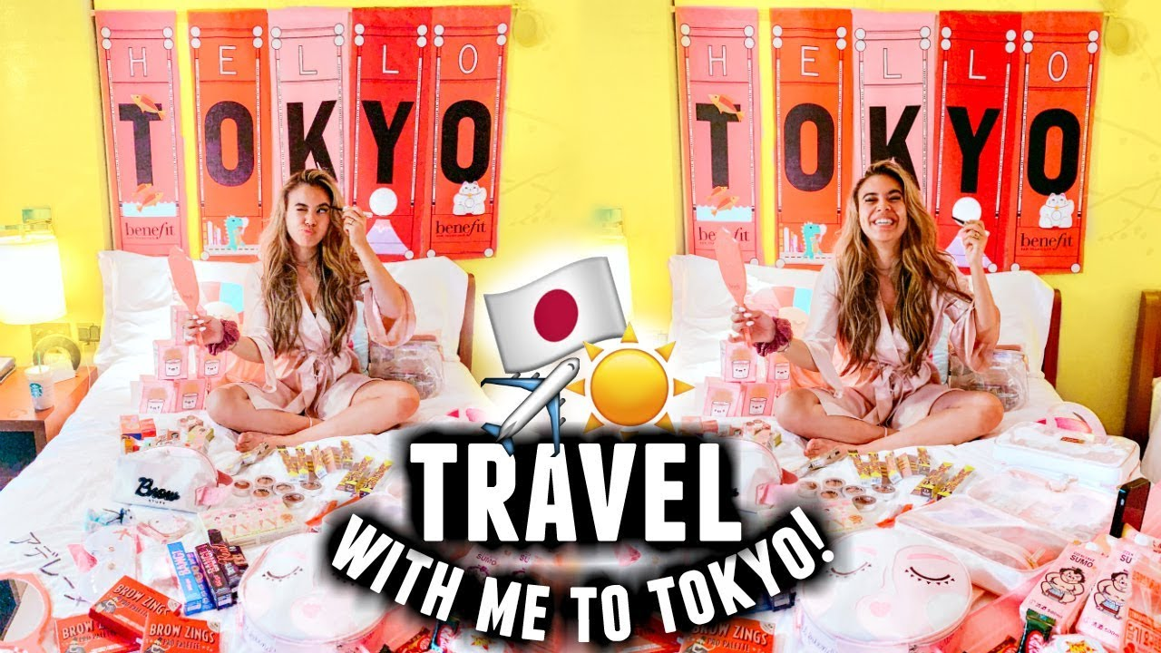 Come To Japan With Me For The First Time! | Room tour, Takeshita Street & Tokyo Travel Vlog