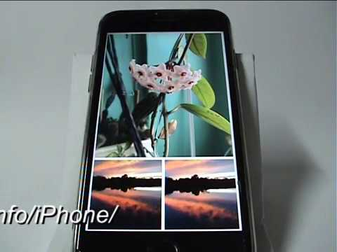 Просмотр фото в режиме слайд-шоу в IPhone