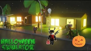Roblox Halloween Simulator 2018! Candy + Obby?!?!