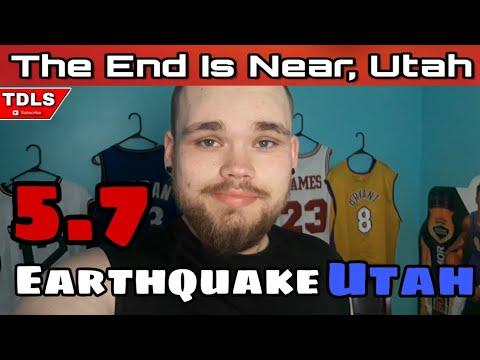 My First Earthquake. Utah Gets Hit with 5.7 Magnitude Earthquake!