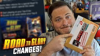 OPENING A SPECIAL WWE SUPERCARD PACKAGE!! BIG ROAD TO GLORY CHANGES!
