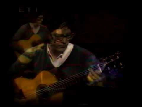 Evangelos Boudounis - Classical Guitar Recital - Greek TV [F.Sor Minuetto op.11 no 6]