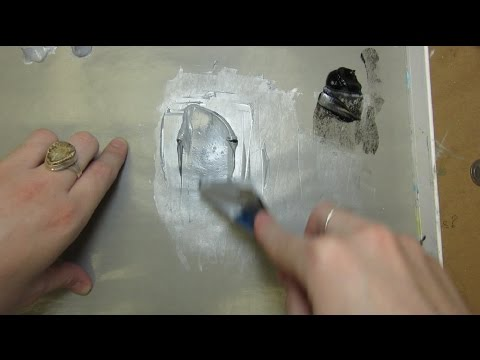 (july15 VLOG) Mixing Grisaille (grey scale) In Oil Paint