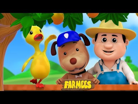 Bingo The Dog Sat On A Wall | Nursery Rhymes Songs For Children | Baby Songs | Farmees