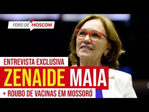 Foro de Moscow  30.03.2021 │ENTREVISTA: senadora Zenaide fala das turbulências no Planalto