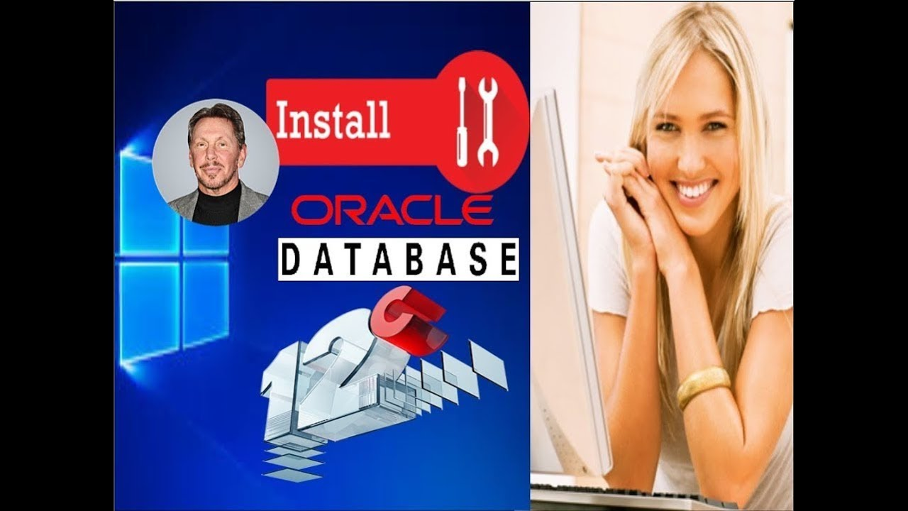Install Oracle Database 12c Release 2 on Windows 10 Professional 64 bit ||  install oracle 12c