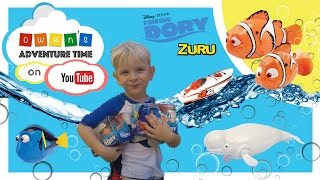 Finding Dory Water Activated Underwater Toy Fun with Micro Boats and Tonka Tiny Blind Bag