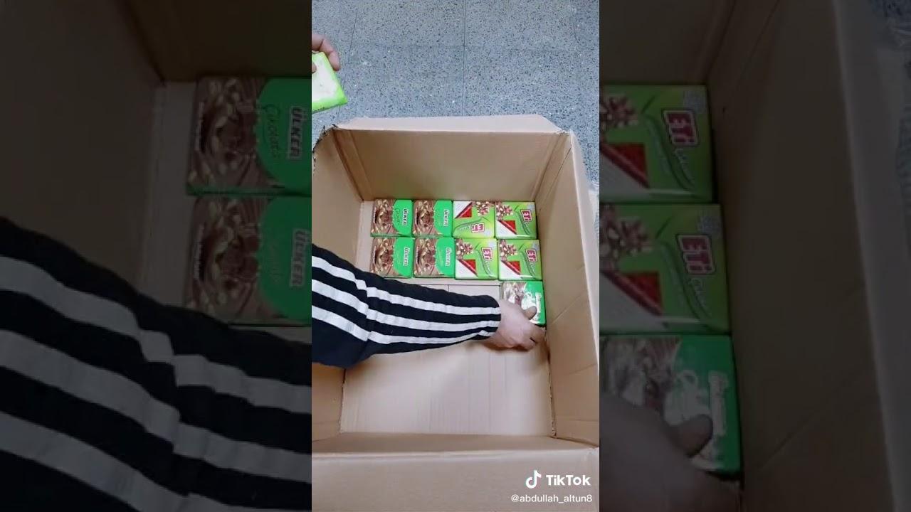 Çikolatadan hediye kutusu yaptım