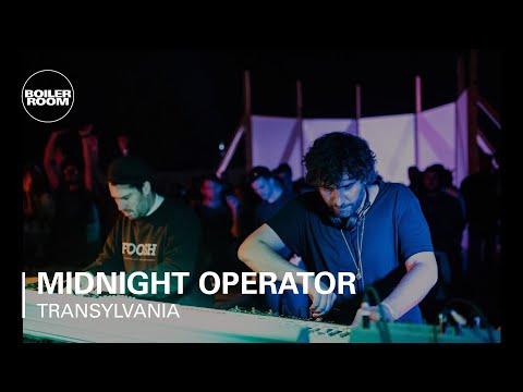 Midnight Operator (Mathew Jonson  + Nathan Jonson) Boiler Room Transylvania x Interval Live Set