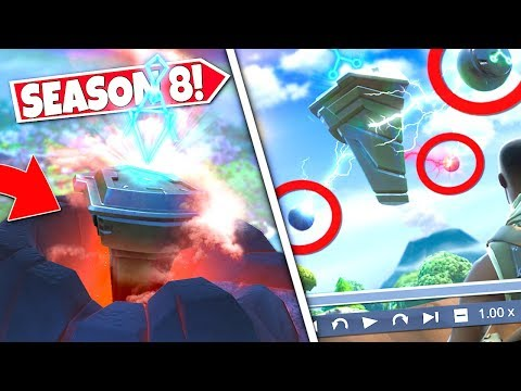 *NEW* RUNE LASER BEAMS *CONNECTED* AT LOOT LAKE CONFIRMING NEXT RUNE LOCATION! SEASON 8 UPDATE!: BR