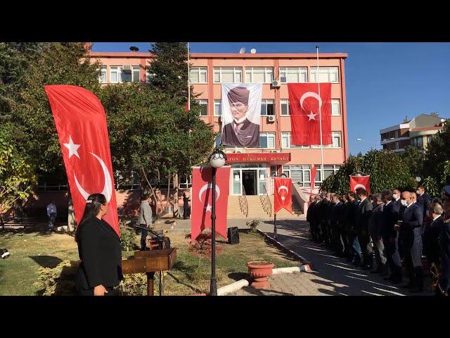 29 Ekim Cumhuriyet Bayramı Merzifon Kaymakamlığı Tebriklerin Kabulü