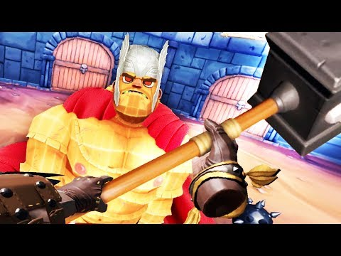 BECOMING THOR IN VIRTUAL REALITY! GORN AVENGERS!! - GORN VR (VR HTC VIVE Gameplay)