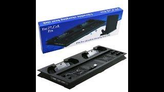 Распаковка : Док Станция + охлаждающая подставка для SonyPlaystation 4 Обзор