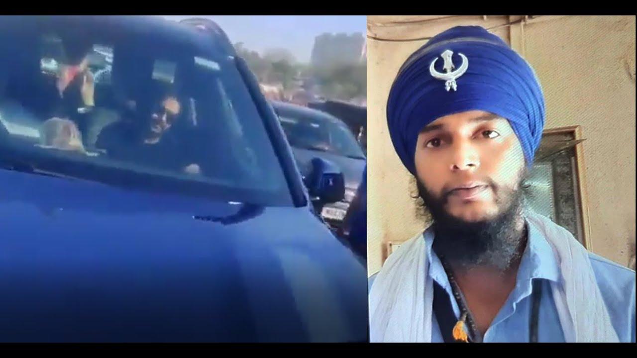 अजय देवगन की कार रोक कर कहा- शर्म करो - YouTube