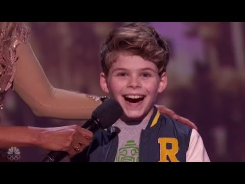 Merrick Hanna: Boy Dancer Turns Into a  ROBOT On LIVE Stage! America's Got Talent 2017