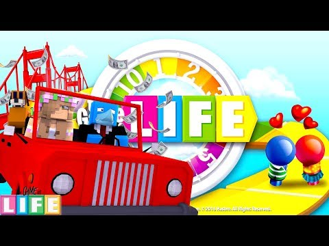 I'M GETTING MARRIED, THE GAME OF LIFE !! Sharky and Little Kelly
