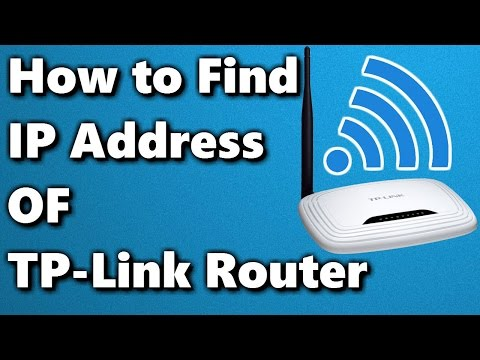 How to Find IP Address of TP-Link Router ✓ - YouTube