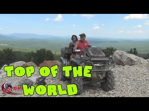 JERICHO ATV FESTIVAL WEEKEND..ATV TO TOP OF THE WORLD...NEW ENGLAND TRIP PT 7