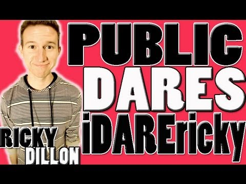 PUBLIC EMBARRASSMENT DARES (iDAREricky #3)