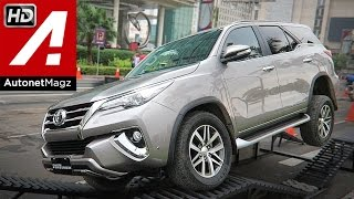 First impression review Toyota All New Fortuner 2016 Indonesia