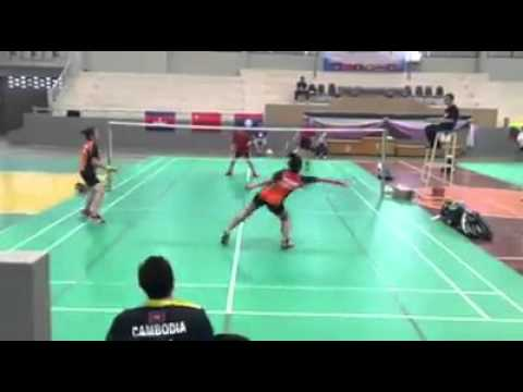 Mekong goodwill games (Badminton in thailand)